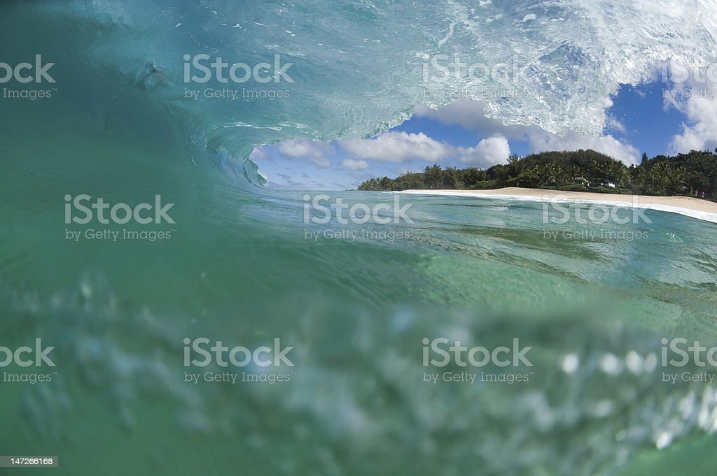 Hollow wave – Foto