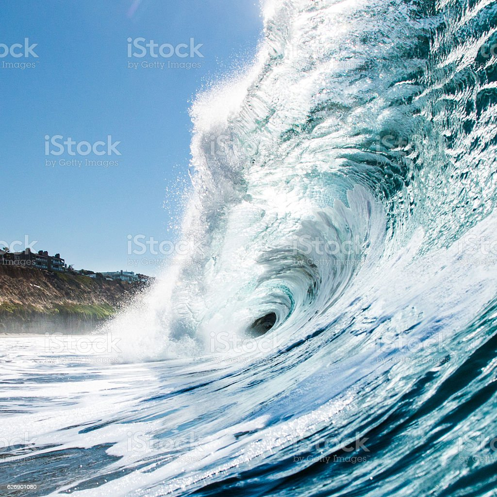 Hollow Wave stock photo