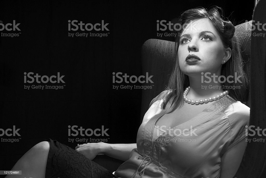 Hollywood, 1937 royalty-free stock photo