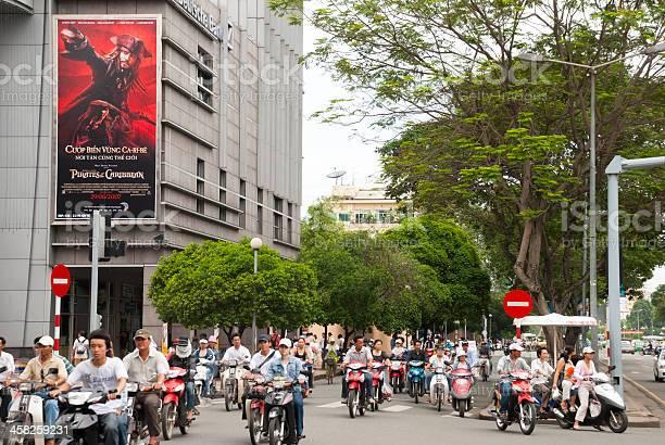 Hollywood and Captain Jack in Saigon, Vietnam