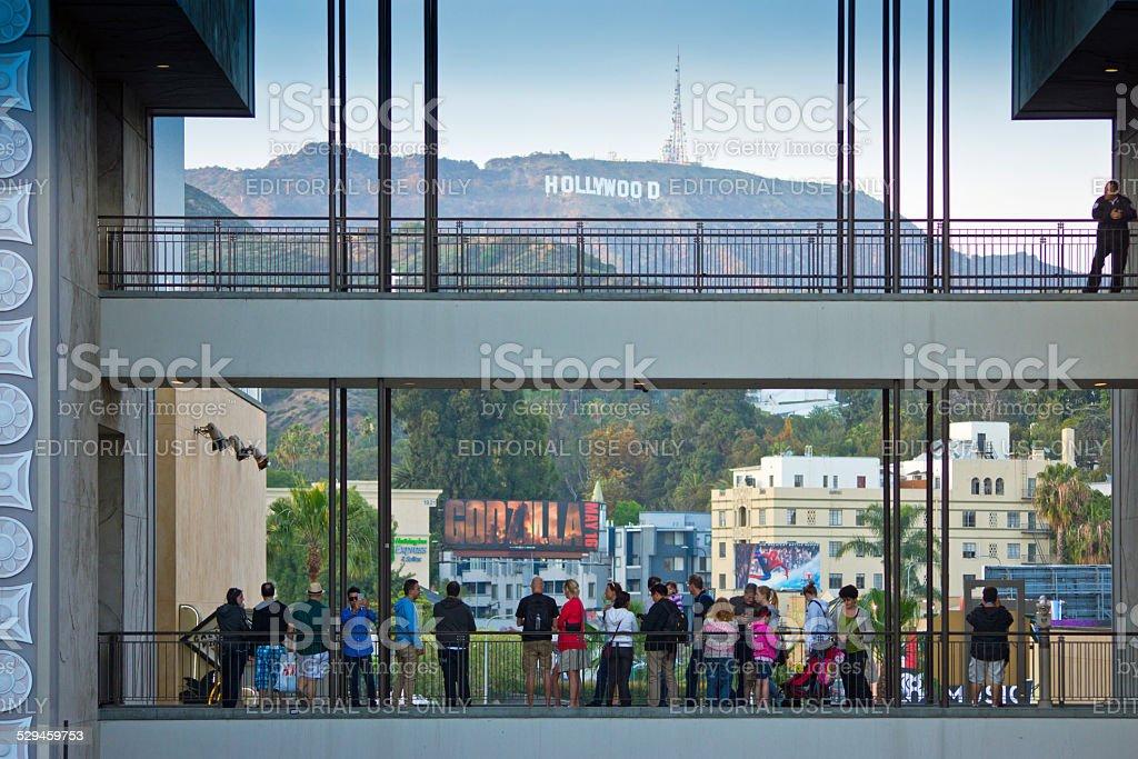 Hollywood and Highland stock photo