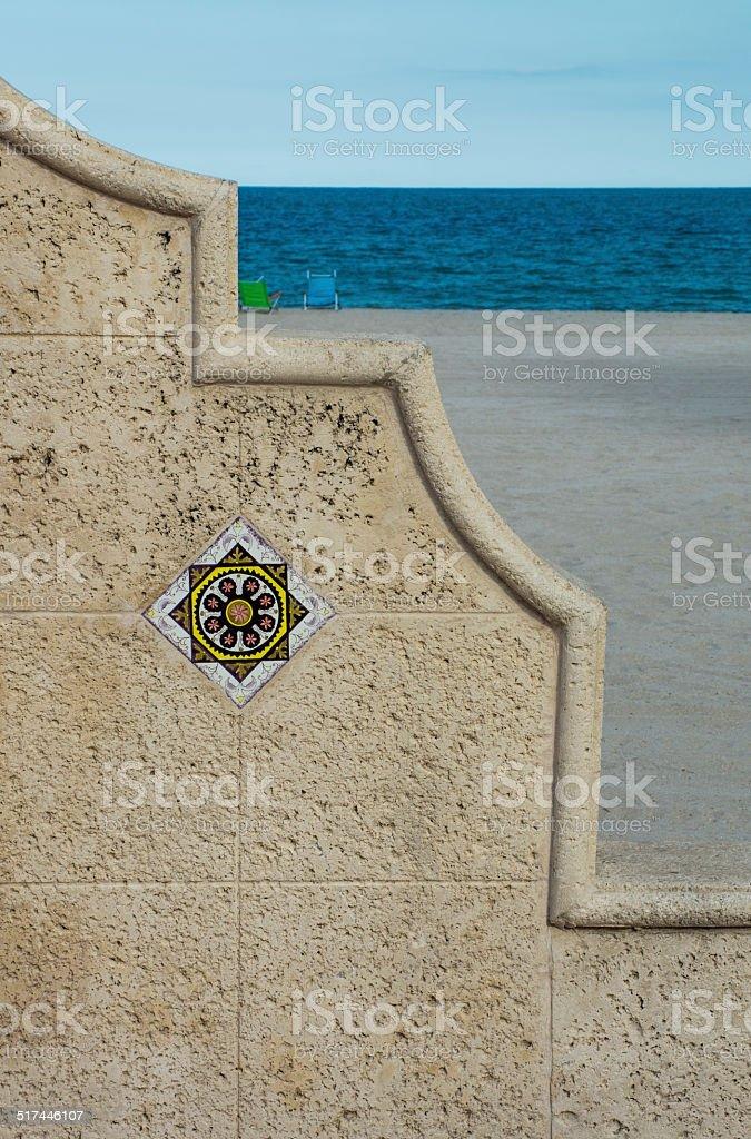 Hollywood Beach stock photo
