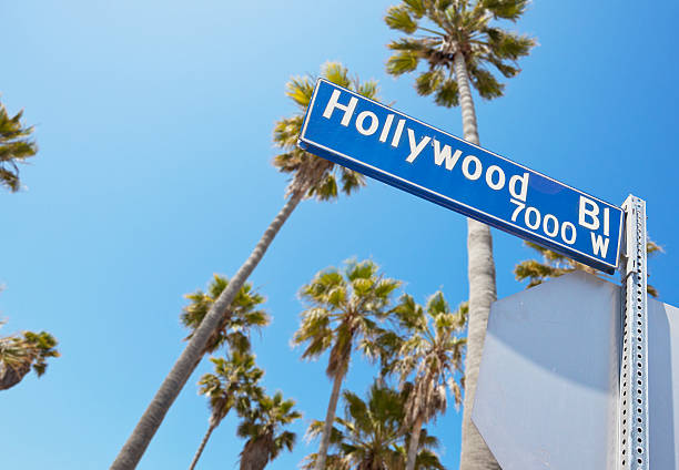 Hollywood Blvd Hollywood hollywood boulevard stock pictures, royalty-free photos & images