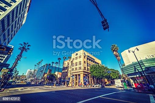 istock Hollywood boulevard in Los Angeles 639142312
