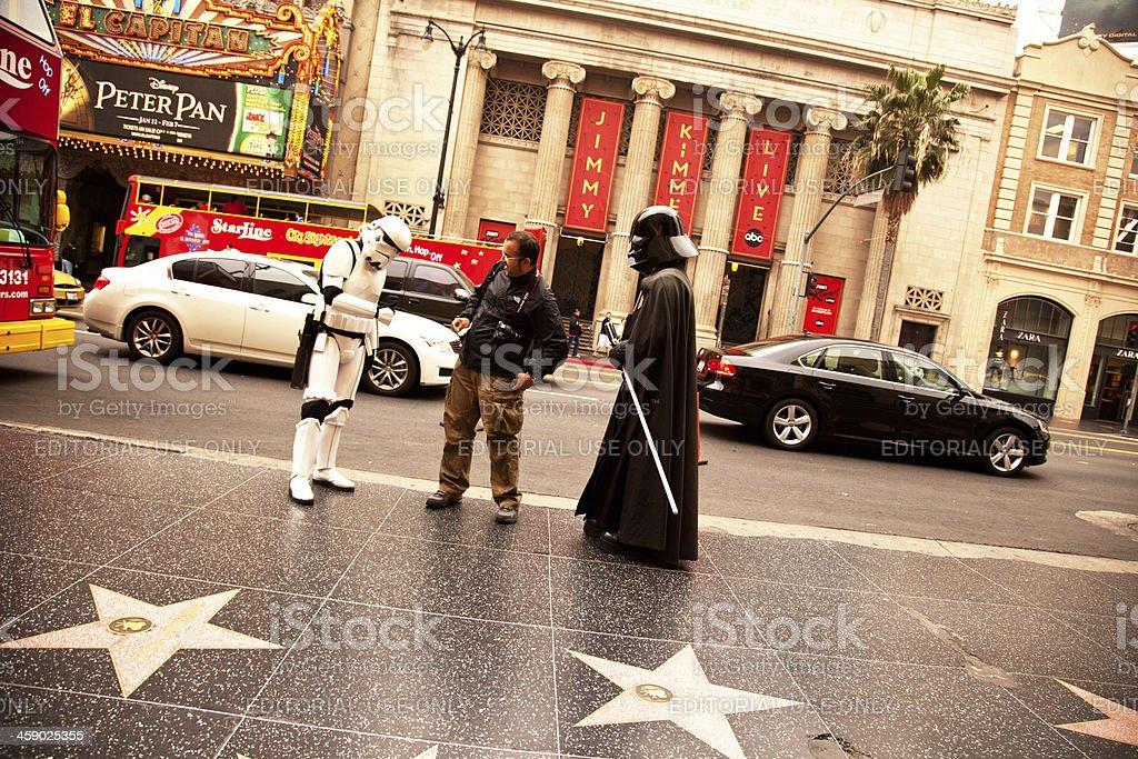Hollywood Boulevard royalty-free stock photo