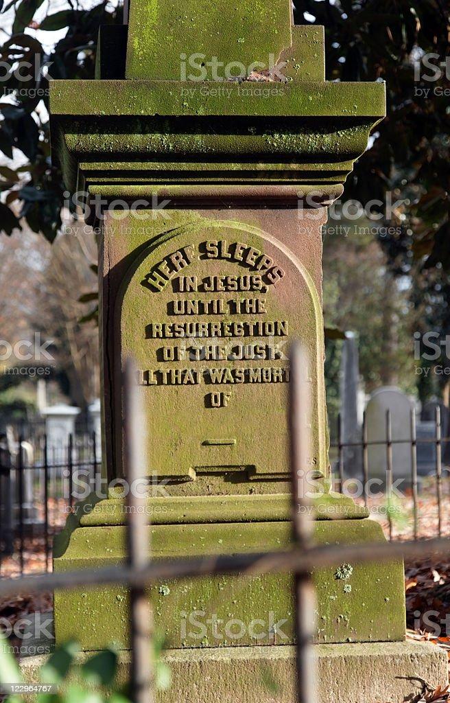 Hollywood Cemetery, Richmond, Virginia stock photo