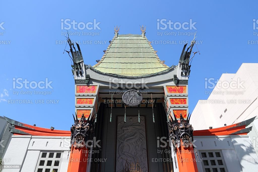 Hollywood Chinese Theatre stock photo
