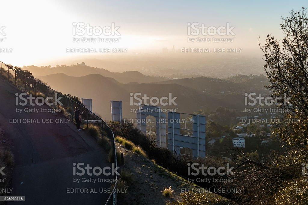 Hollywood Haze stock photo