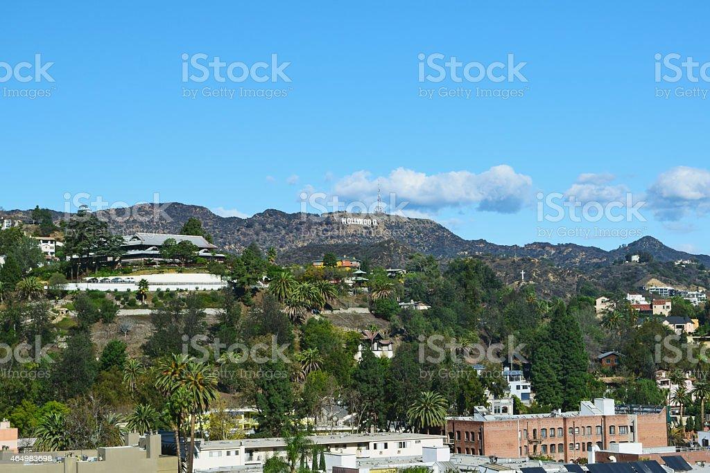 Hollywood Hills stock photo