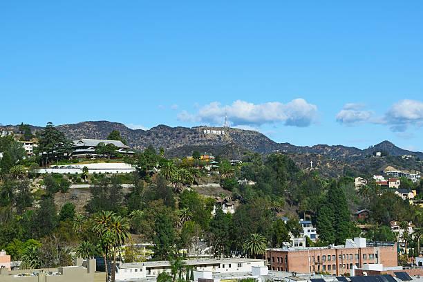 hollywood hills - hollywood sign bildbanksfoton och bilder