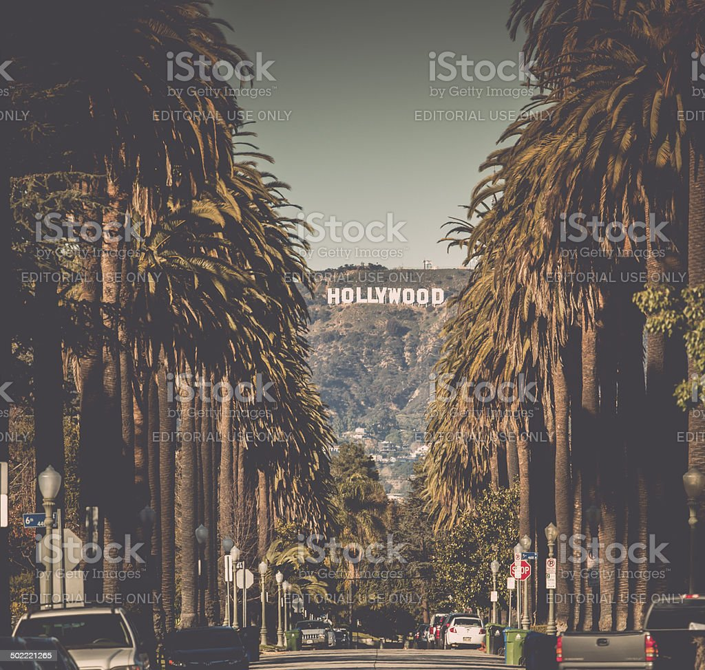 Hollywood stock photo