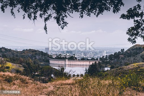 Mulholland Dam and Lake Hollywood Reservoir