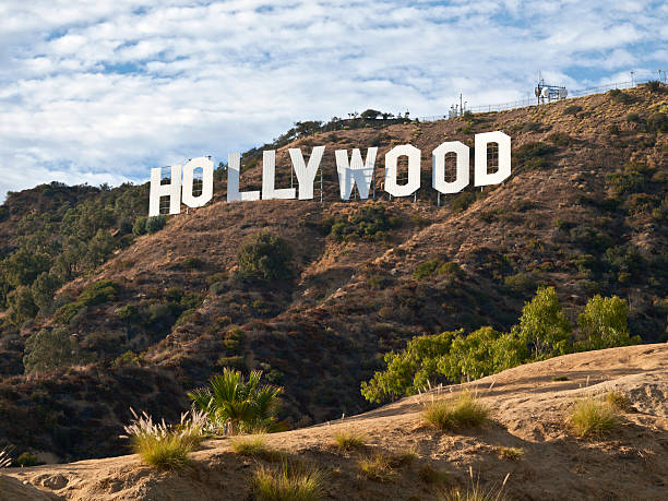 Hollywood Sign Afternoon stock photo