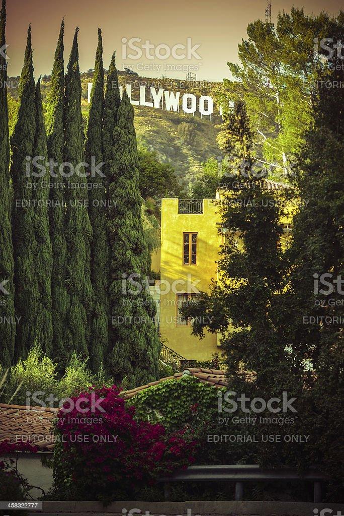 Hollywood Sign, California, USA royalty-free stock photo