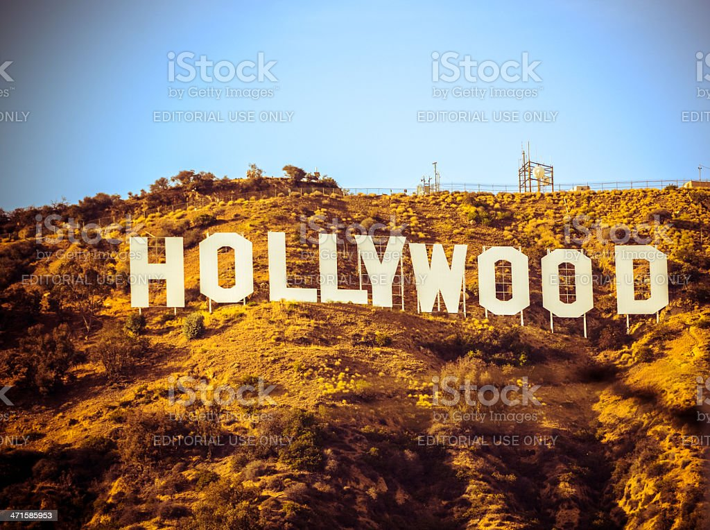 Hollywood Sign, California, USA stock photo