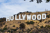 Hollywood Sign in Los Angeles, California, USA