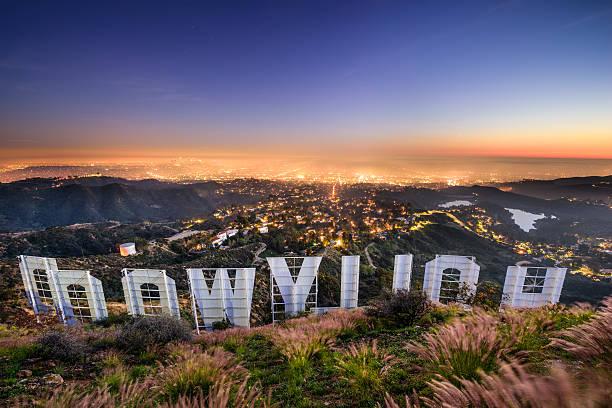 hollywood sign los angeles - hollywood sign bildbanksfoton och bilder
