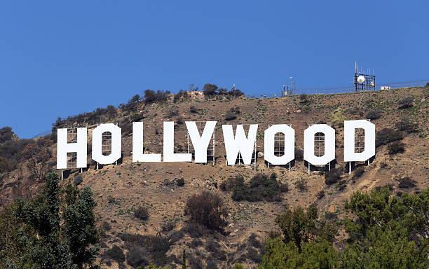 hollywood sign - hollywood sign bildbanksfoton och bilder