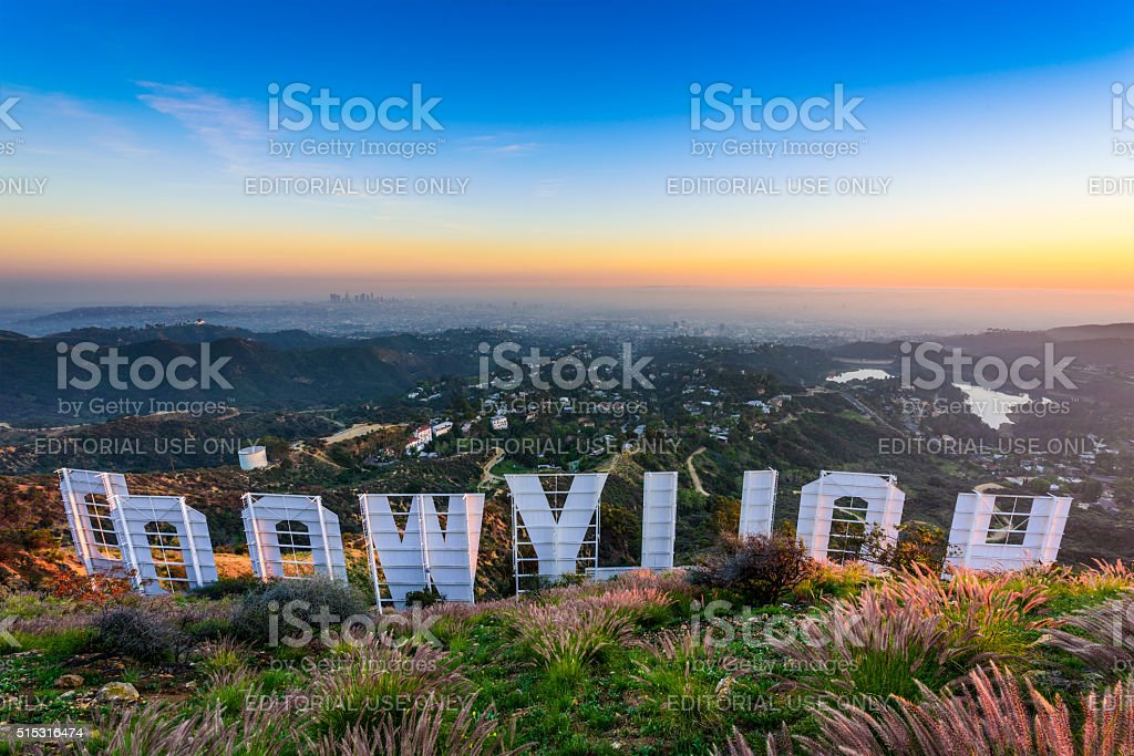 Hollywood Sign stock photo