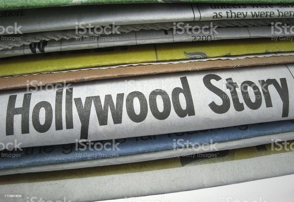 Hollywood Story stock photo