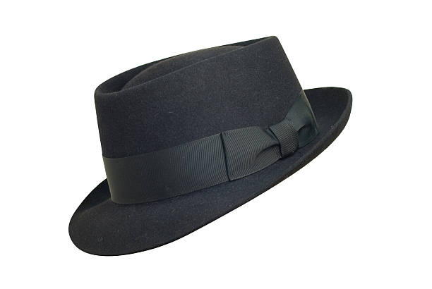 Hollywood style hat stock photo