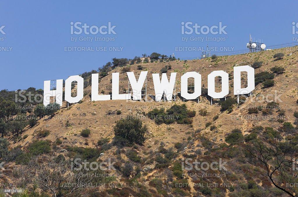 Hollywood USA stock photo