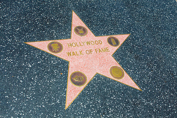 Hollywood Walk of Fame Los Angeles, USA - June 24, 2011: This is the first star on the Hollywood Walk of Fame in Hollywood, California. walk of fame stock pictures, royalty-free photos & images