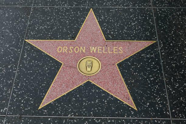 hollywood walk of fame - universum city kinos stock-fotos und bilder