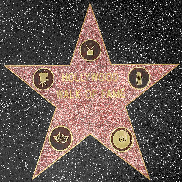Hollywood Walk of Fame Star  hollywood boulevard stock pictures, royalty-free photos & images