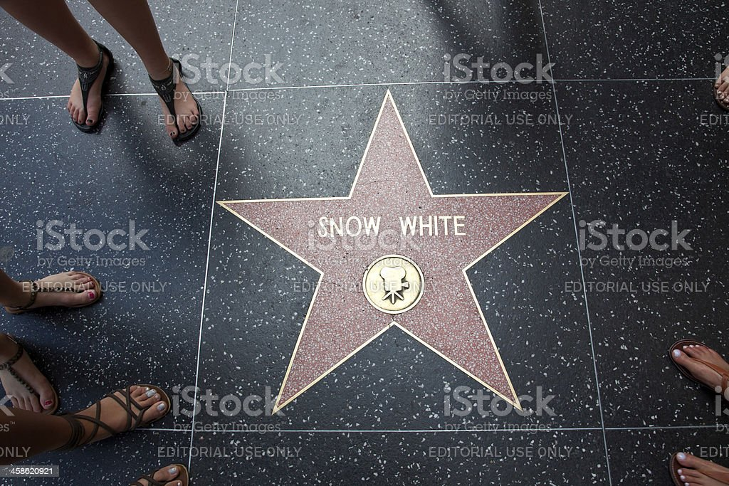 Hollywood Walk Of Fame Étoile Blanche-Neige - Photo