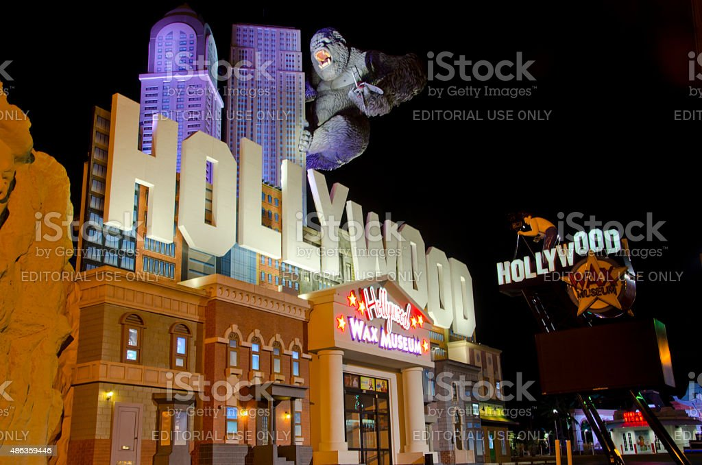 Hollywood Wax Museum in Branson, Missouri stock photo