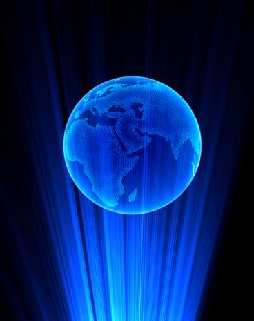 blue planet hologram