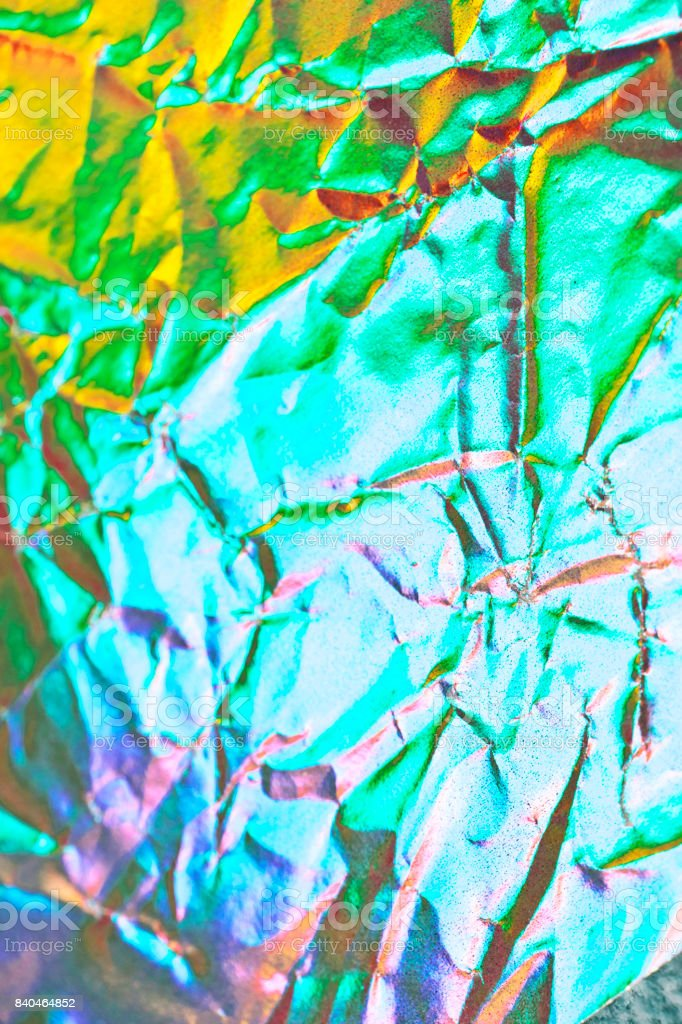 Holographic Abstract Shiny Background stock photo