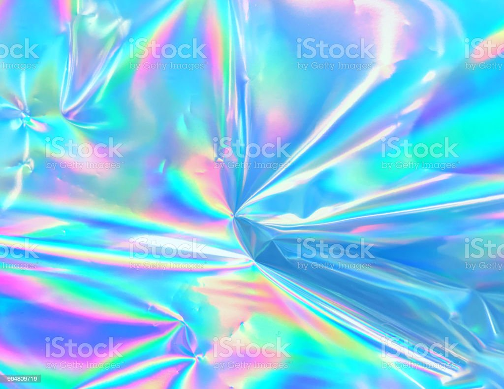 Holographic background stock photo