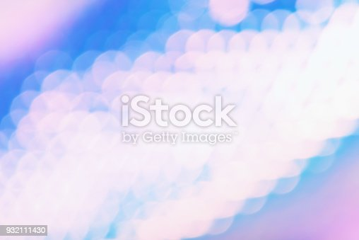 1007273724 istock photo Holographic foil background with sparkly bokeh light effect 932111430