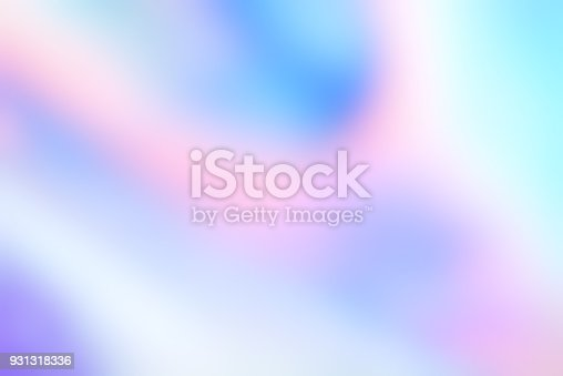 istock Holographic foil blurred abstract background for trendy design 931318336