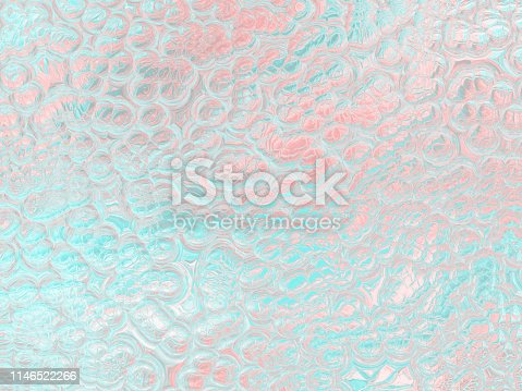 istock Holographic Foil Pastel Millennial Pink Coral Blue Teal Bubble Pearl Background Abstract Reptile Lizard Colorful Skin Texture 1146522266