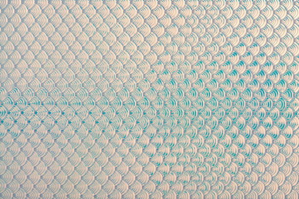Holographic mermaid fish scales iridescent faux leather texture