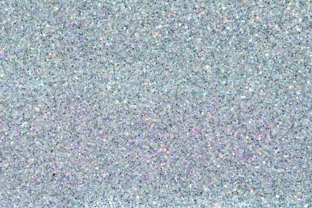 ホログラム多色クロムのテクスチャです。スパンコールのパウダーです。色のキラキラ。輝く背景 - ホログラム ストックフォトと画像