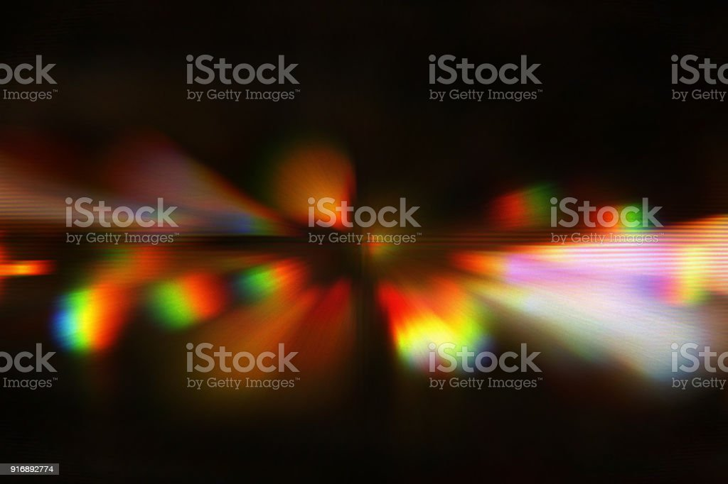 Holographic neon background. abstract glitch design. style and trends of 80s / 90s stock photo