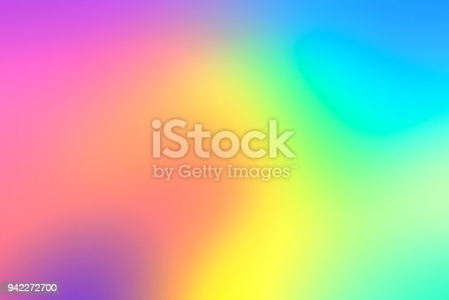 istock Holographic neon background 942272700