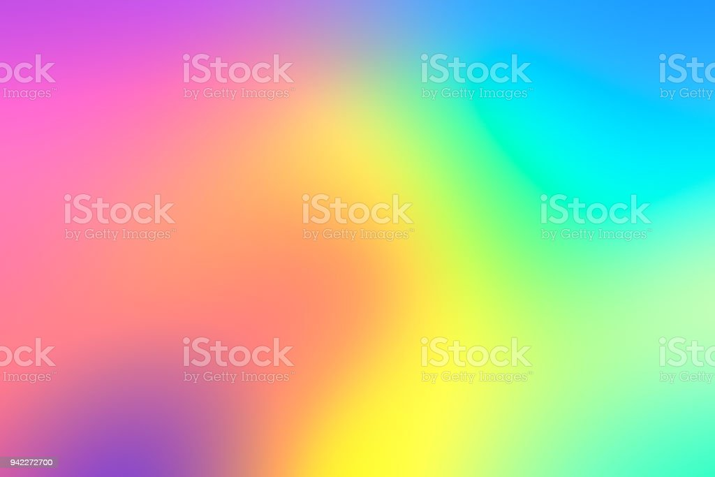Holographic neon background stock photo