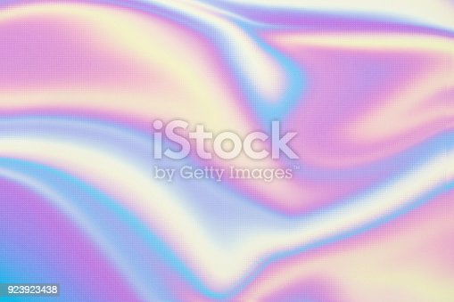 Holographic neon background. Wallpaper hologram abstract gradient