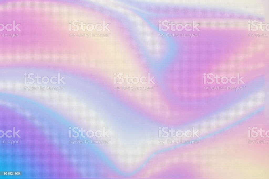 Holographic neon glow background. Wallpaper stock photo