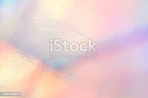 Holographic neon shiny background. Minimalist style, millennial colors.