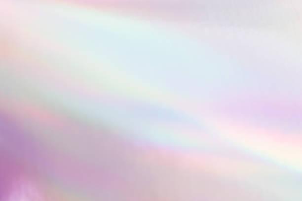 ホログラフィックネオン光沢のある背景。ミニマリストスタイル、ミレニアル色。 - ホログラム ストックフォトと画像