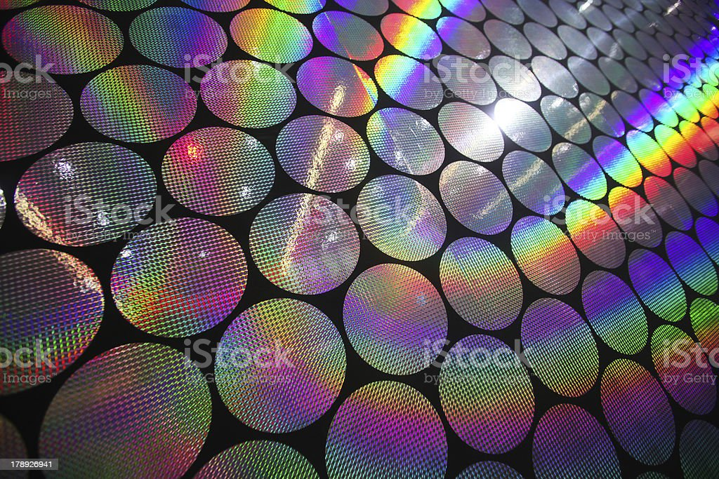 holographic patterns royalty-free stock photo