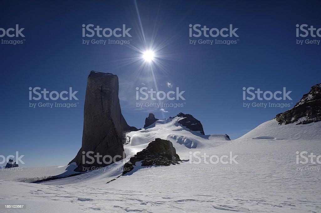 Holtanna Peak stock photo