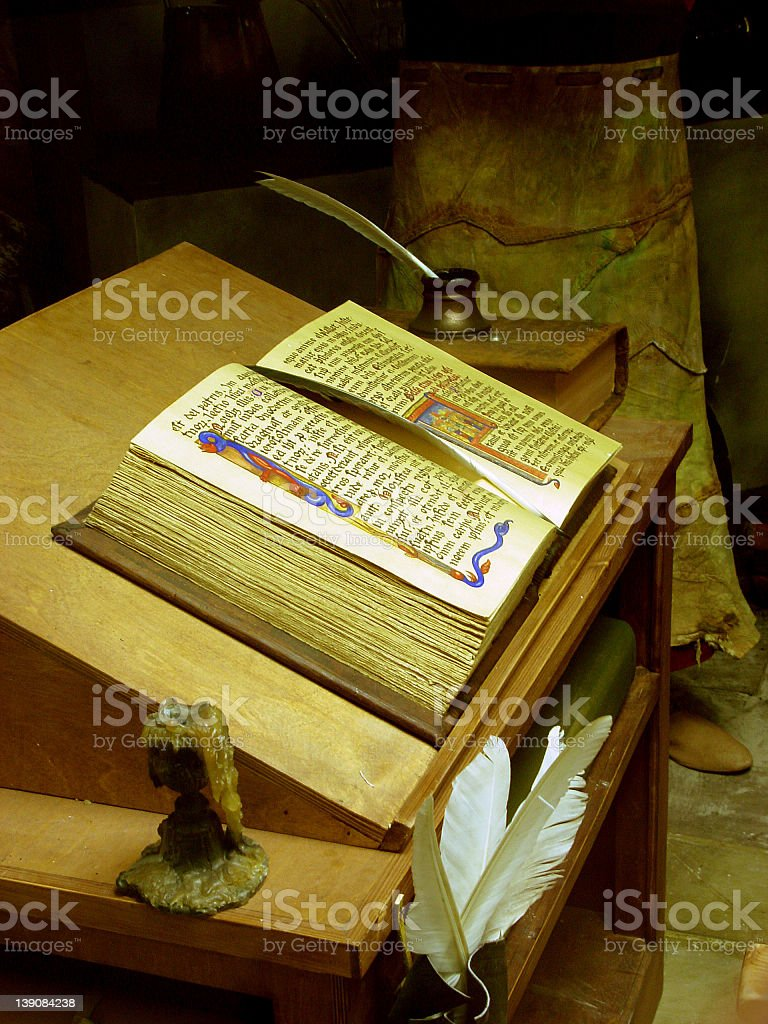 Holy Bible 2 royalty-free stock photo