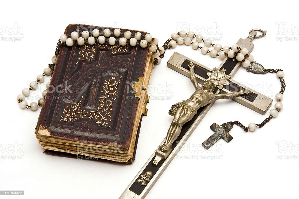 Holy bible royalty-free stock photo